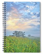 Cloud Filled Morning 2 Spiral Notebook