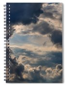 Cloud Formations Boiling Up Spiral Notebook