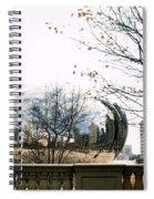 Cloud Gate - 1 Spiral Notebook