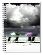 Cloud Illusions Spiral Notebook