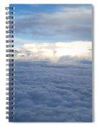 Cloud Landscape Spiral Notebook