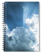 Cloud Light  Spiral Notebook
