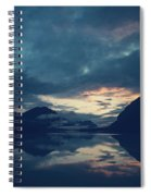 Cloud Mountain Reflection Spiral Notebook