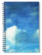 Cloud Painting Spiral Notebook