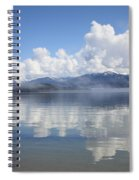 Cloud Reflection On Priest Lake Spiral Notebook