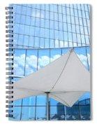 Cloud Reflections - Revel Hotel Spiral Notebook