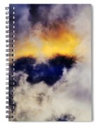 Cloud Sculping Spiral Notebook