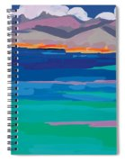 Cloud Sea View Spiral Notebook