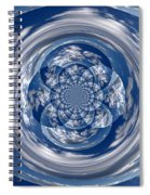 Cloud Spiral Spiral Notebook