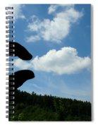 Cloud Squeeze Spiral Notebook