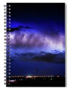 Cloud To Cloud Lightning Boulder County Colorado Spiral Notebook