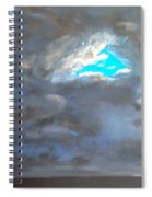 Cloudhole Spiral Notebook