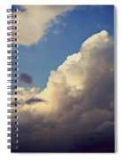 Clouds-3 Spiral Notebook
