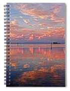 Clouds - Almost Heaven Spiral Notebook