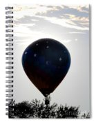Clouds And Stars                                   Spiral Notebook
