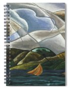 Clouds And Water Spiral Notebook