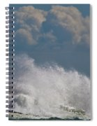 Clouds And Waves Spiral Notebook