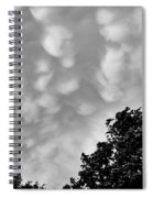 Clouds Before The Storm Spiral Notebook