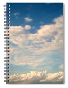 Clouds Clouds Clouds Spiral Notebook
