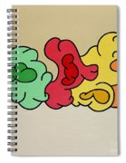 Clouds Drifting By Spiral Notebook