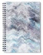 Clouds Filled With Snow Spiral Notebook