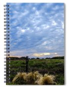 Clouds Illusions Spiral Notebook