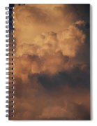 Clouds In Color Spiral Notebook