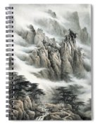 Clouds In The Mountain Spiral Notebook
