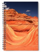 Clouds Kissing The Wave Spiral Notebook
