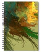 Clouds Of Color Spiral Notebook