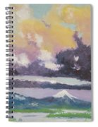 Clouds Of Mt Hood Spiral Notebook