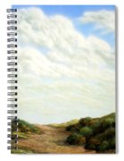 Clouds Of Spring Spiral Notebook