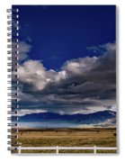 Clouds Over California Spiral Notebook