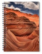 Clouds Over Coyote Buttes North Spiral Notebook