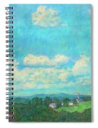 Clouds Over Fairlawn Spiral Notebook