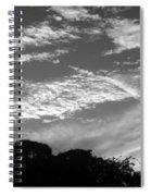 Clouds Over Florida Spiral Notebook