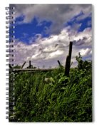 Clouds Over Gettysburg Spiral Notebook