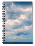 Clouds Over The Sea Spiral Notebook