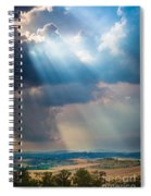 Clouds Over Tuscany Spiral Notebook