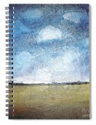 Flying Clouds Spiral Notebook