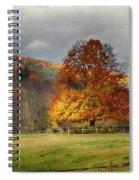 Clouds Part Over Marsh Billings-rockefeller Nhp Spiral Notebook