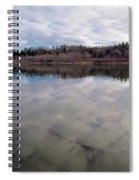 Clouds Reflect Spiral Notebook