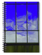 Clouds Reflected Spiral Notebook