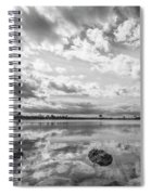 Clouds Touching The Water Spiral Notebook