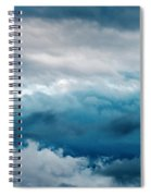 Clouds Two Spiral Notebook