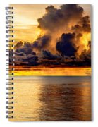 Clouds Within The Clouds Spiral Notebook