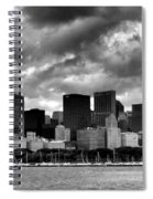 Cloudy Day Chicago - 2 Spiral Notebook