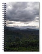 Cloudy Environment  Spiral Notebook
