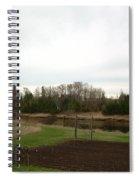 Cloudy Spring Dawn After Rain Spiral Notebook