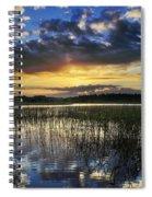 Cloudy Sunrise Spiral Notebook